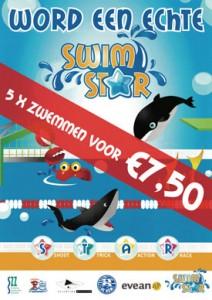 SwimSTAR programma bij Zwem- en waterpolovereniging De Ham