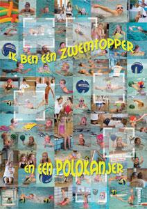 Poster SwimSTAR van ZV De Ham