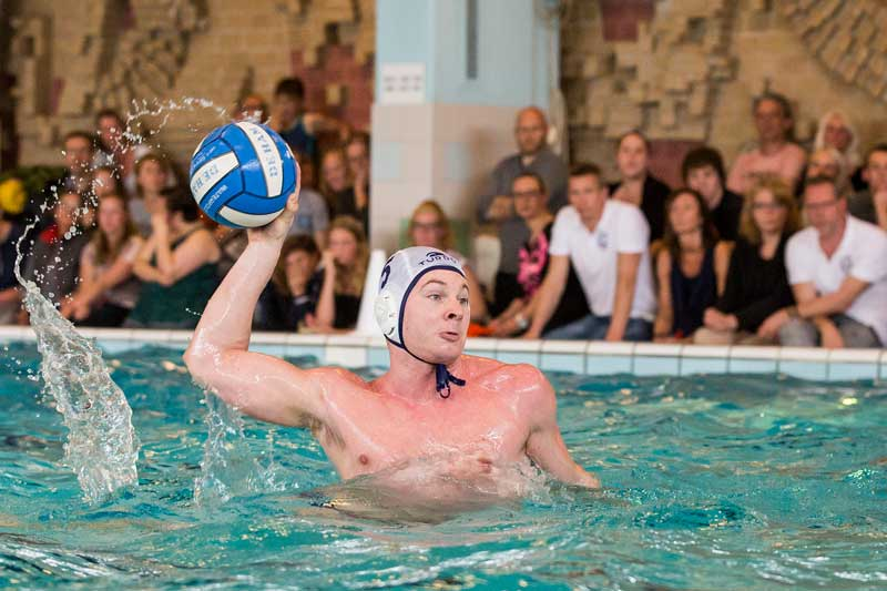 Jeremy, speler heren 1. Waterpolo in Zaanstreek-Noord