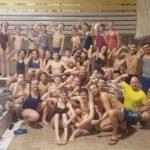 Trainingskamp zwemploeg groot succes