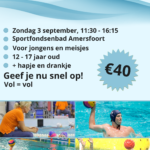 Waterpoloclinic 3 september