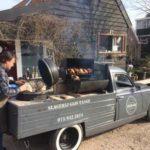 Vrijwilligers barbecue zv de Ham ZC